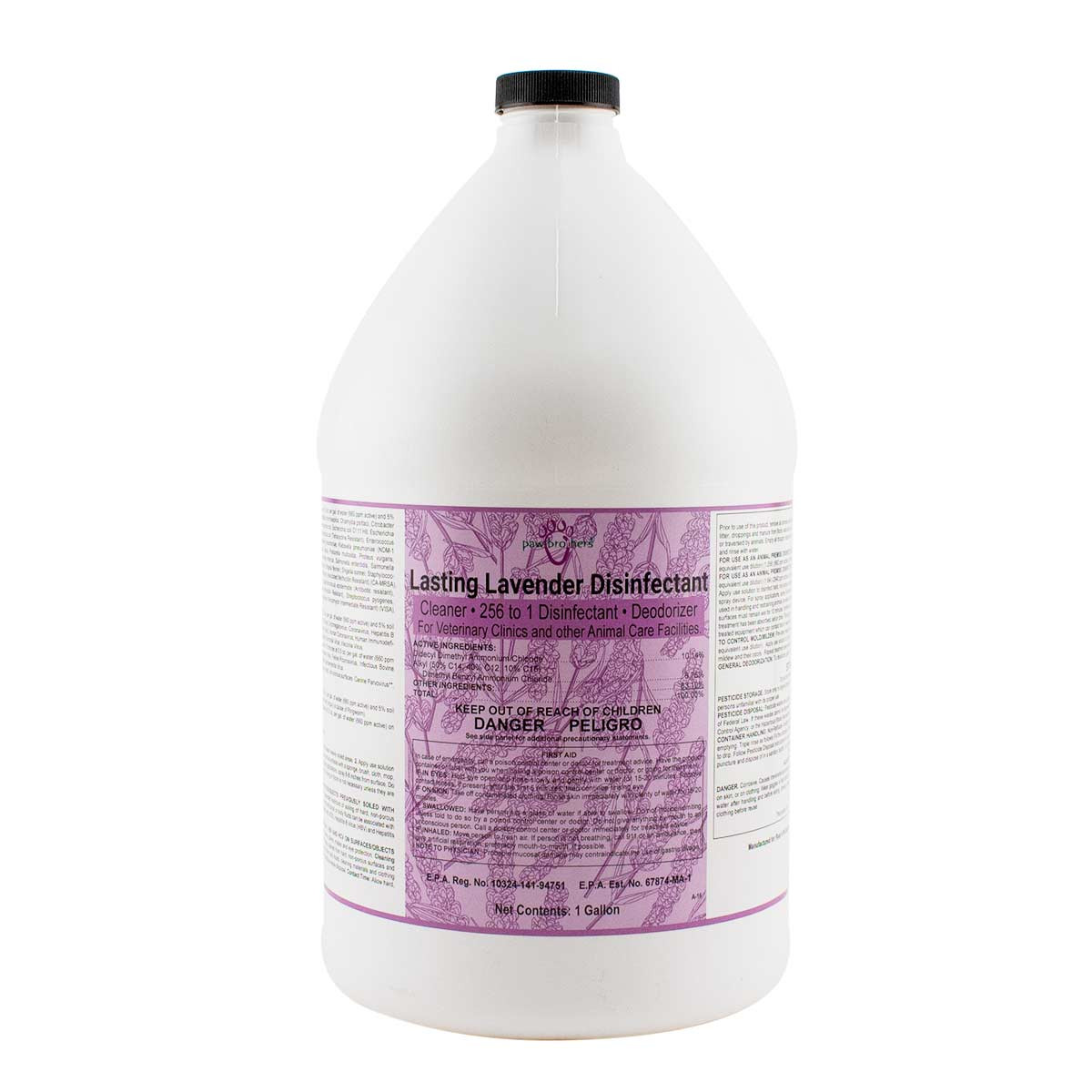 Paw Brothers Lasting Lavender 256 Disinfectant