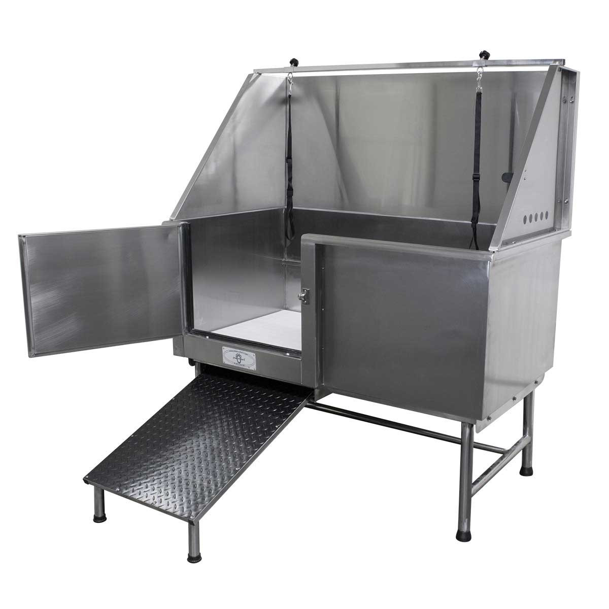 """Paw Brothers 48"""" Stainless Steel Grooming Table"""