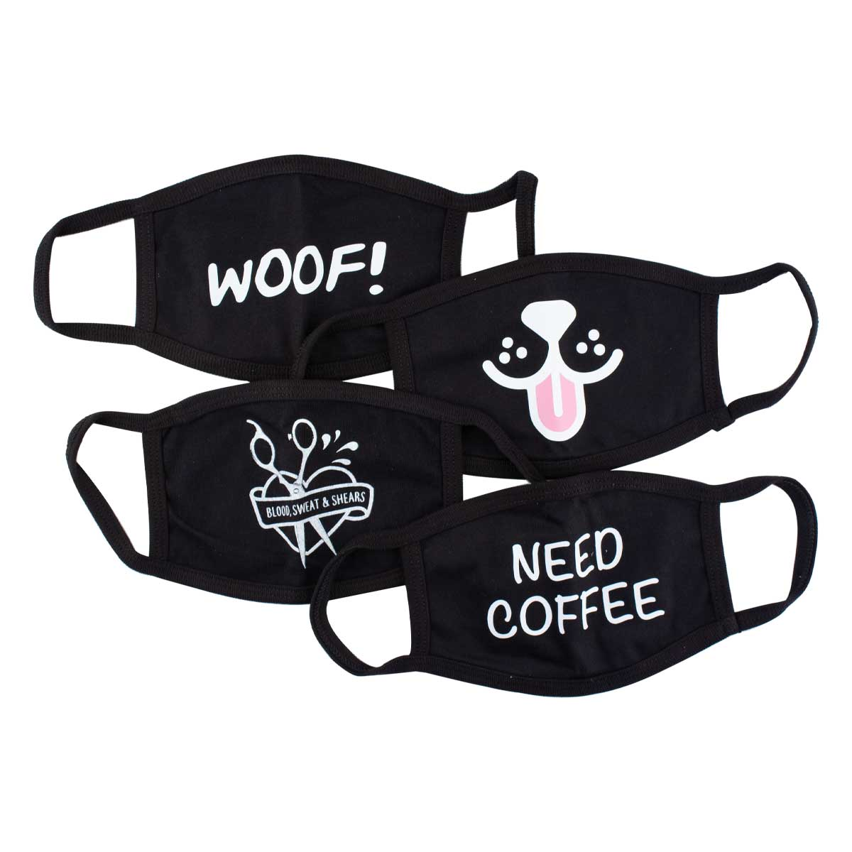 Ryan's Pet Supplies Cloth Face Masks for Groomers