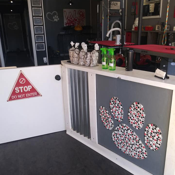 Front Counter at Woof Worx Pet Grooming