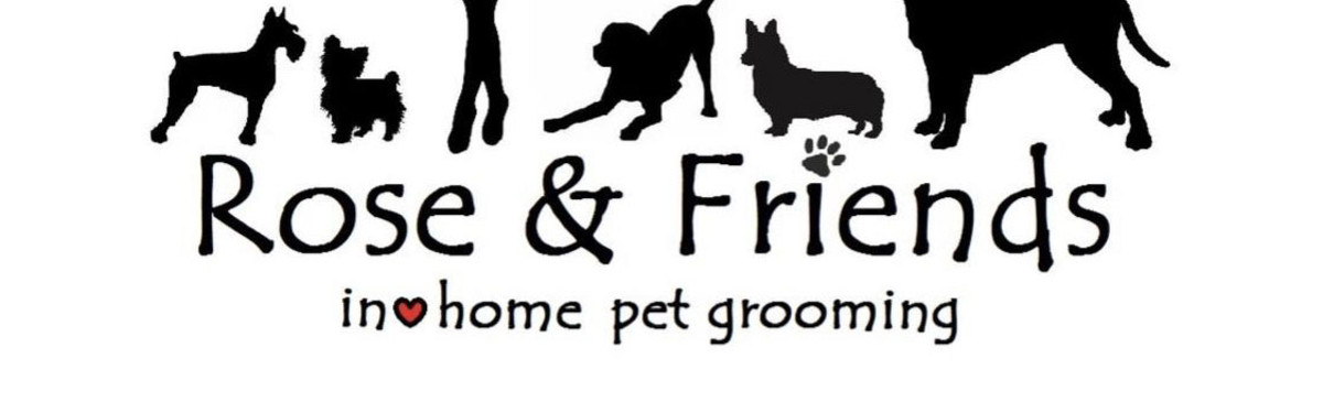Rose and Friends Pet Care Logo