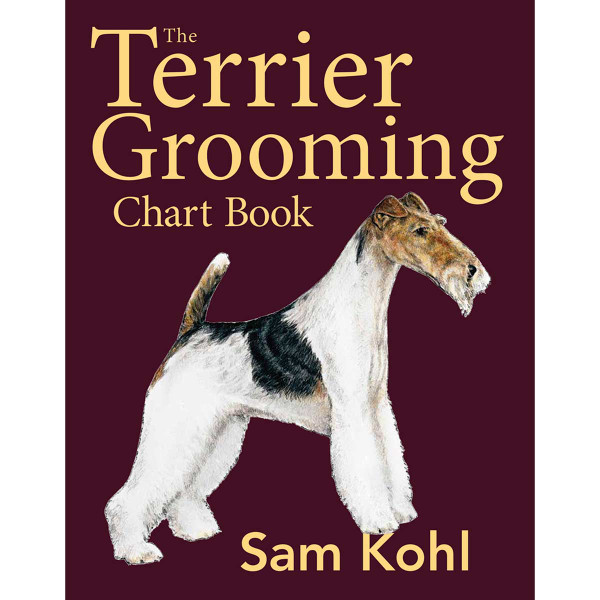 Buy The Terrier Grooming Chart Book by Sam Kohl