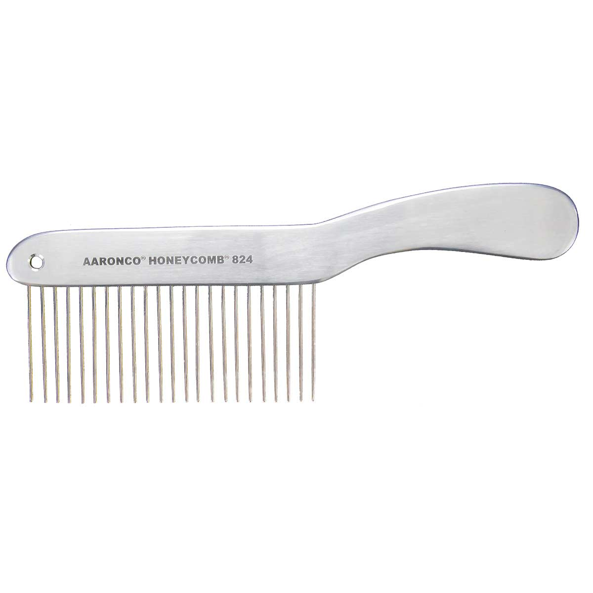 "AARONCO HONEYCOMBS 8.5'' Long Hair Coarse 23 Teeth 1 ¾"" Long Grooming Comb"