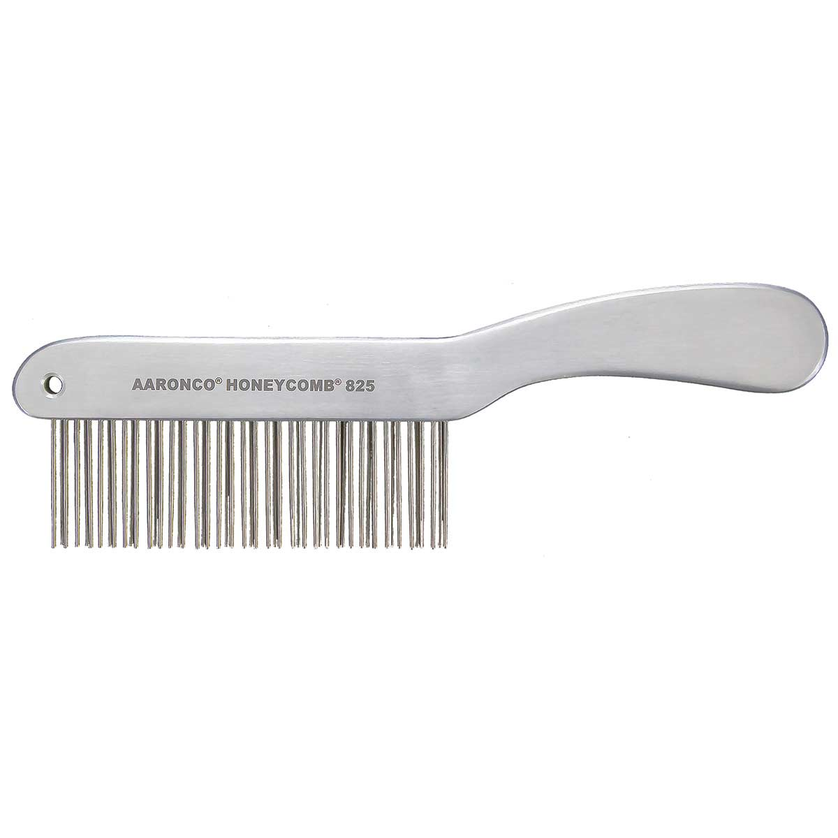"AARONCO HONEYCOMBS 8.5"" Double Row Fisher 51 Medium Teeth 1 3/8"" Long Grooming Comb"