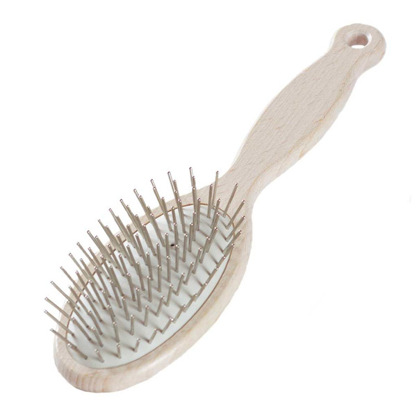 Wood Victoria Pin Brush Oval Firm from #1 All Systems