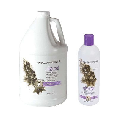 #1 All Systems Crisp Coat Shampoo for dogs