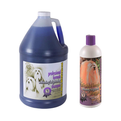 #1 All Systems Professional Formula Whitening Shampoo for dogs