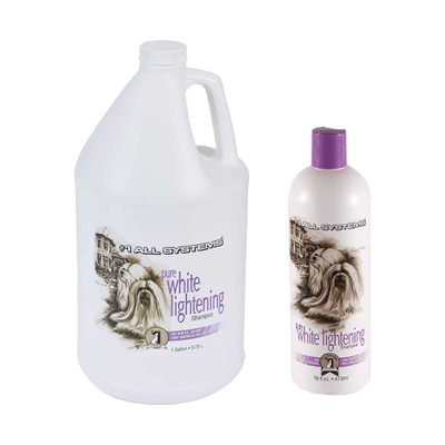 #1 All Systems Pure White Lightening Shampoo for dogs