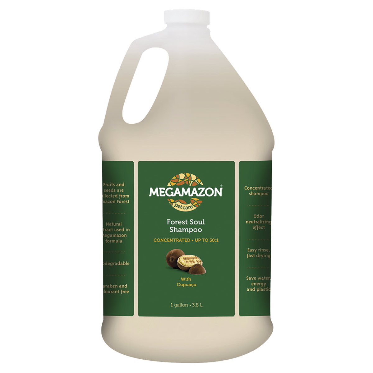 Buy Megamazon Forest Soul Pet Shampoo Gallon 30:1