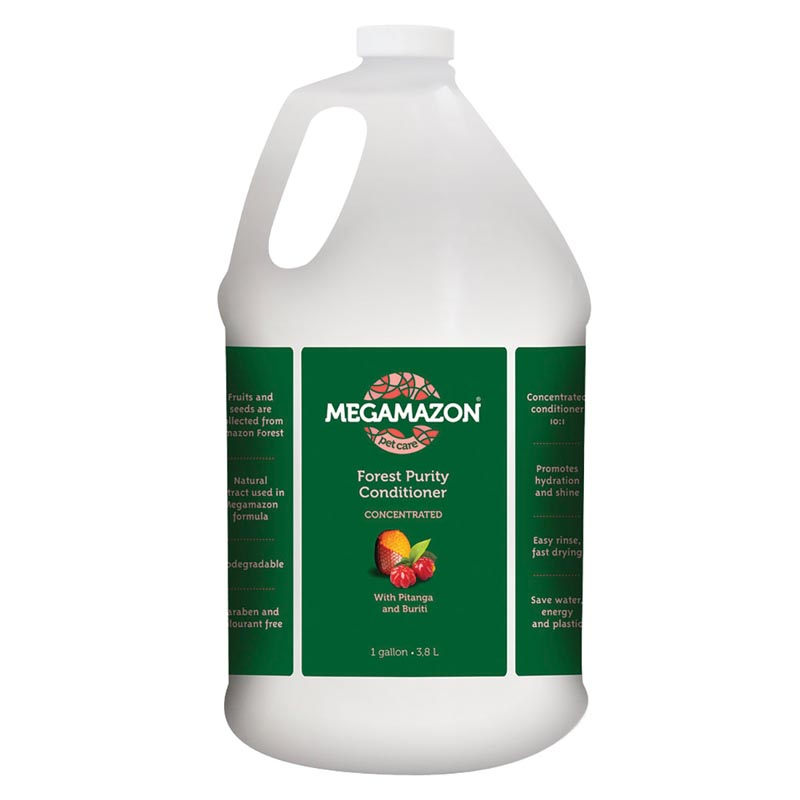 Buy Megamazon Forest Purity Conditioner for Dogs Gallon 10:1 Concentration