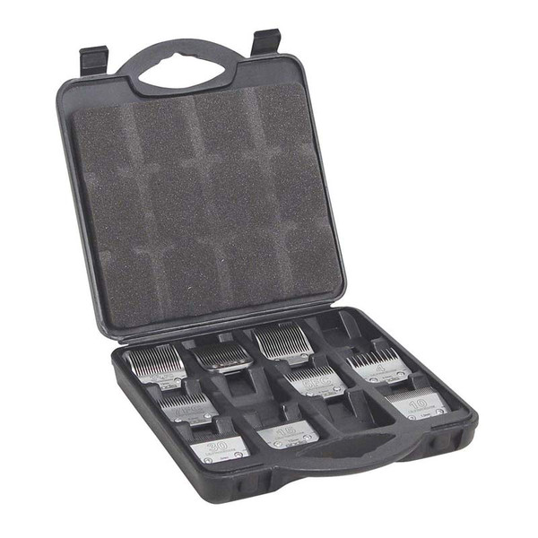 Inside Andis Animal Blade Carrying Case