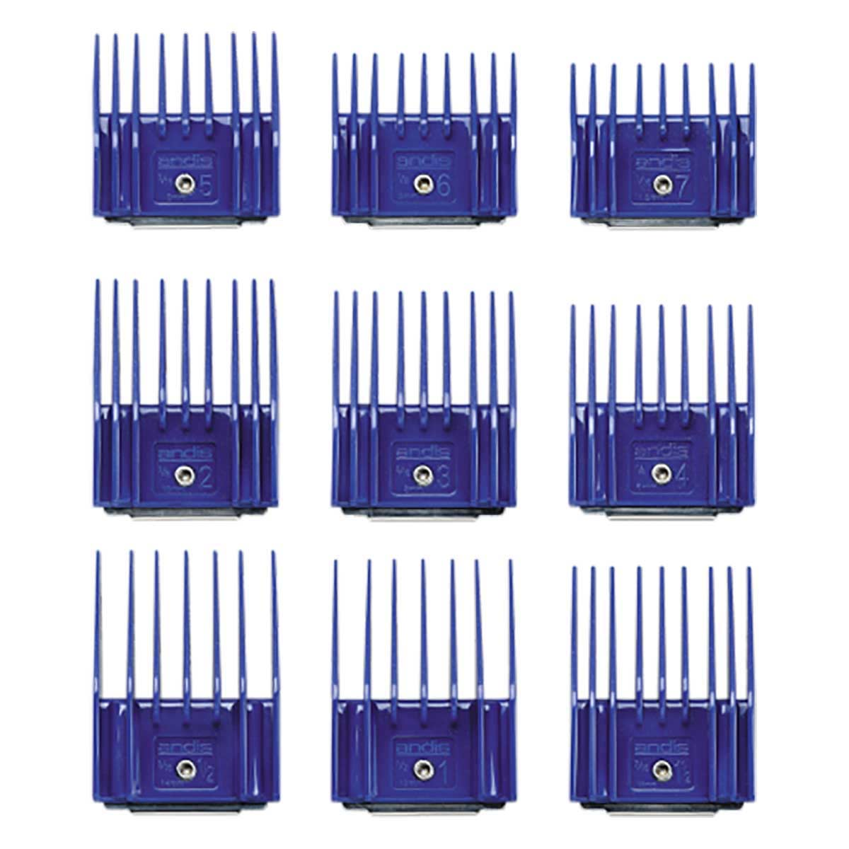 Buy Andis 9 Piece Snap-On Comb Set - Small at Ryan's Pet Supplies