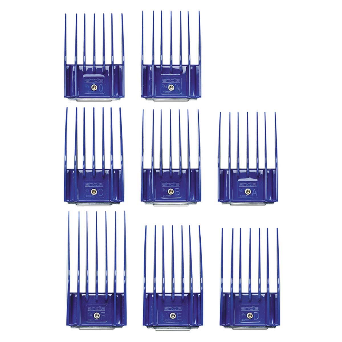 Buy Andis 8 Piece Snap-On Comb Set - Large at Ryan's Pet Supplies