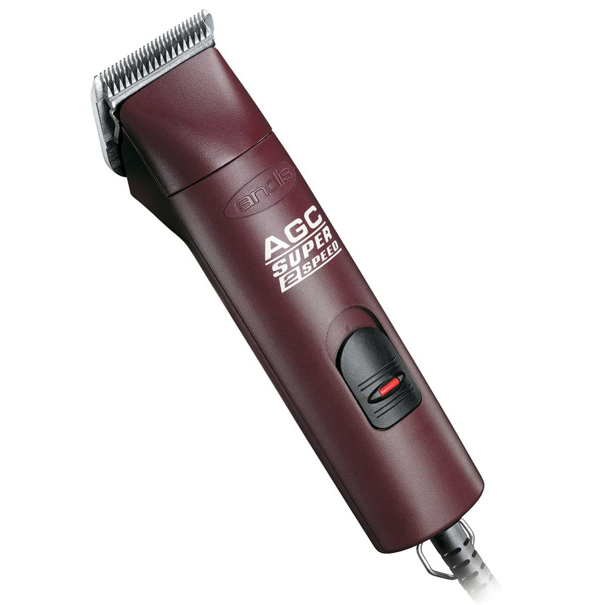 Burgundy Special Edition Andis Super 2-Speed AGC Clipper with #10 Blade