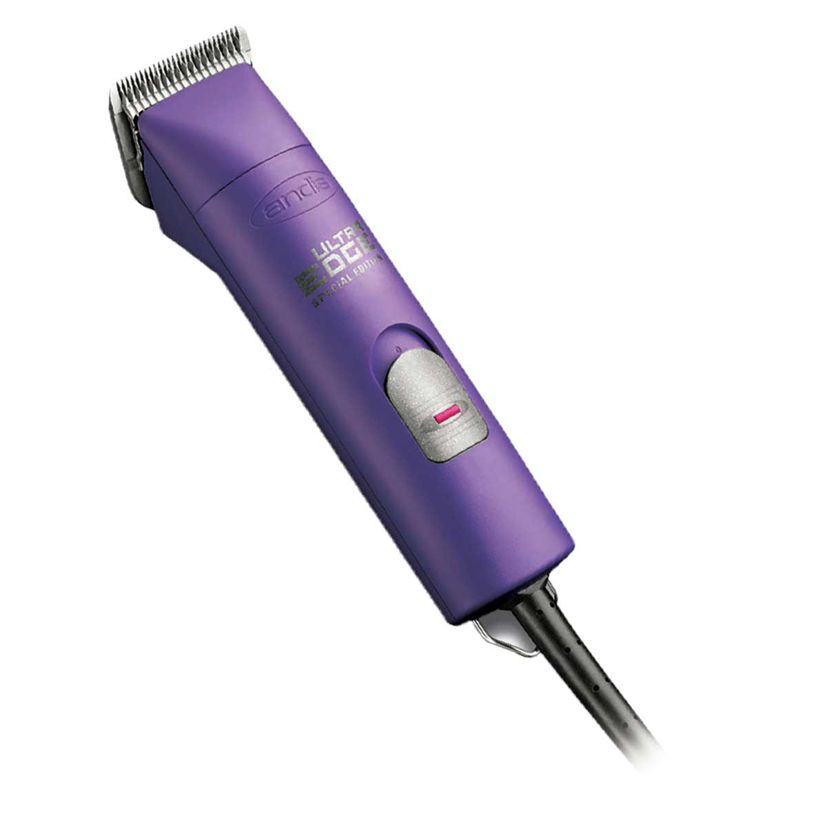 Purple Special Edition Andis Super 2-Speed AGC Grooming Clipper with #10 Blade