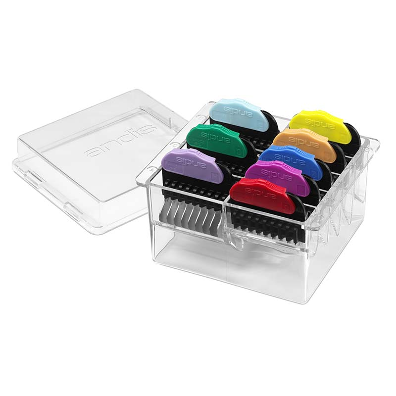 Andis 8-Piece Steel Animal Comb Set and Storage Case at Ryan's Pet Supplies