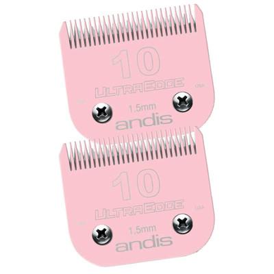 Andis #10 Pink EGT Blades 2 Pack