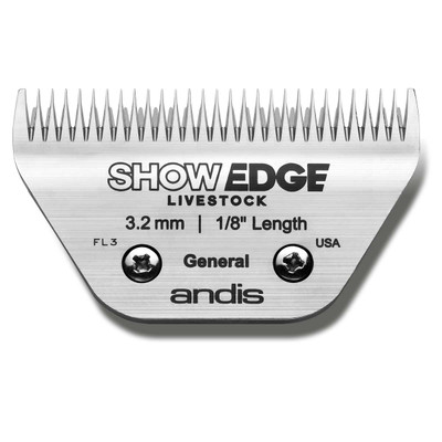 Andis Showedge Livestock General Wide Blade 1/8 inch Length