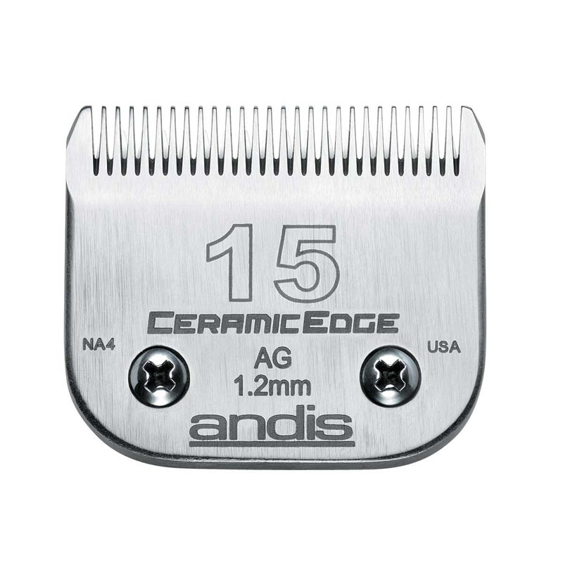 Andis CeramicEdge Grooming Blade (#15) 3/64 inch Cut at Ryan's Pet Supplies