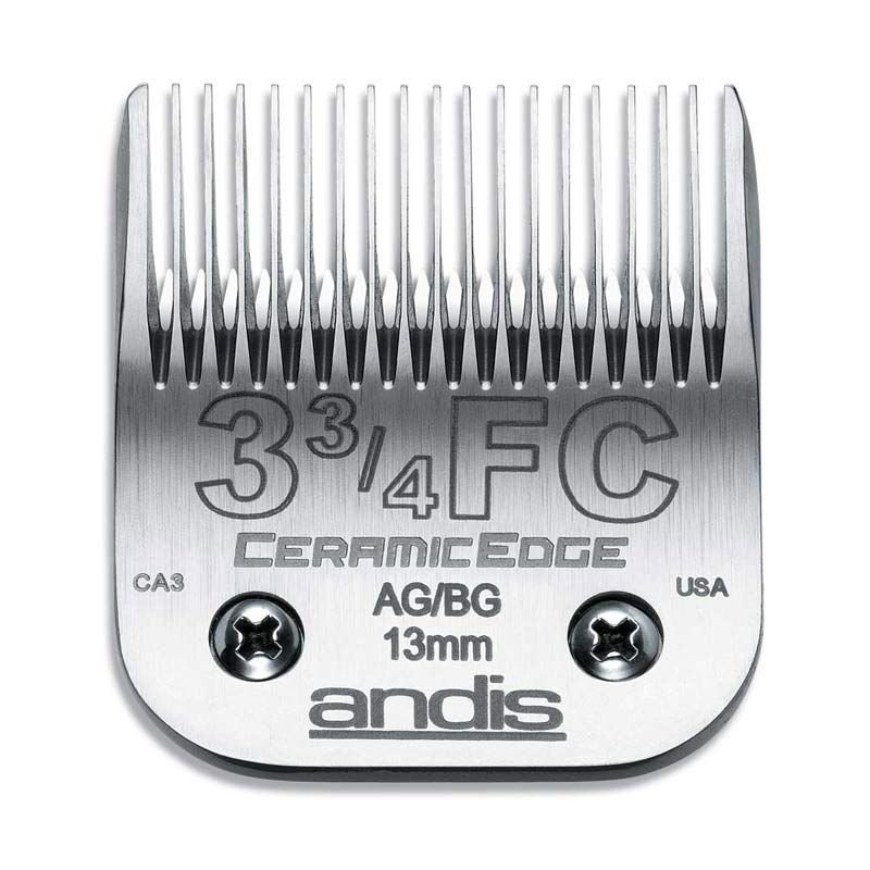 Dog Grooming Blades - Andis CeramicEdge Blade (#3 3/4F) 1/2 inch Full Tooth Cut at Ryan's Pet Supplies