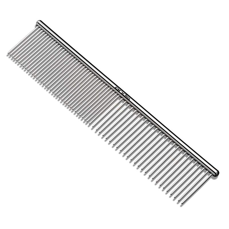 "Andis 7.5"" Steel Comb for Grooming"
