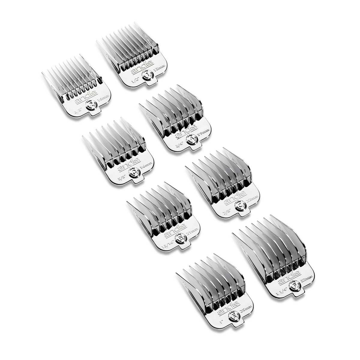 Buy Andis Chrome Universal Comb Set