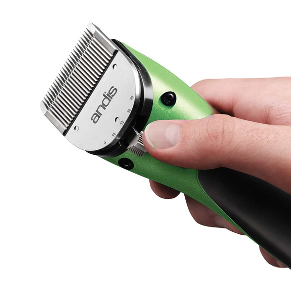 Adjustable Blade for Lime Green Andis Pulse Ion Lithium Ion Clipper