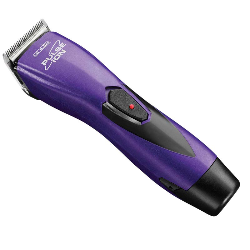 Purple Andis Pulse Ion Lithium Ion Clipper