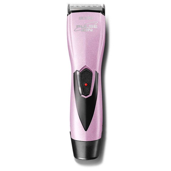 Pink Andis Pulse Ion Lithium Ion Grooming Clipper