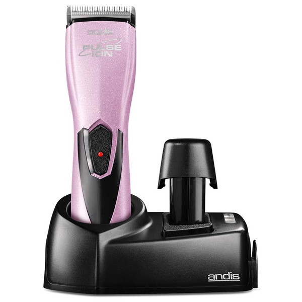 Charging stand and station for Pink Andis Pulse Ion Lithium Ion Grooming Clipper