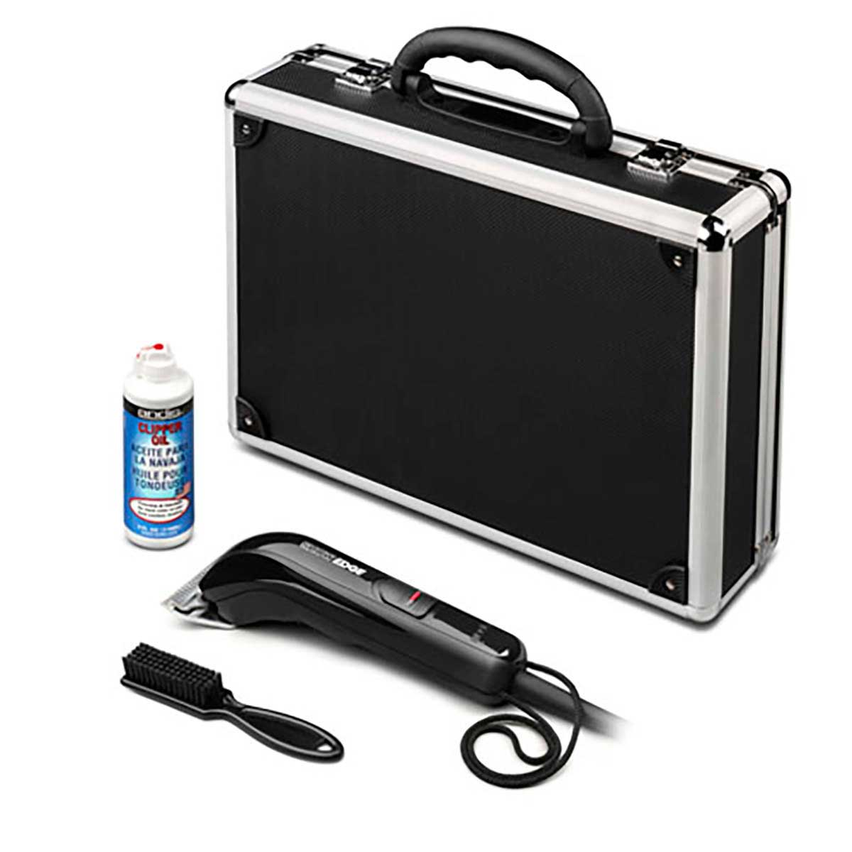 Andis Showedge Large Animal Clipper 2-Speed Kit with Clipper Oil, Carrying Case and Clipper Brush