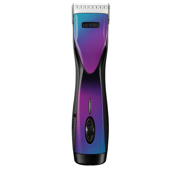 Andis PulseZR II Li+ Cordless 5-Speed Purple Galaxy Rechargeable Clipper