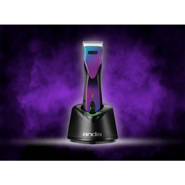 Journey to Space with the Andis PulseZR II Li+ Cordless 5-Speed Purple Galaxy Rechargeable Clipper