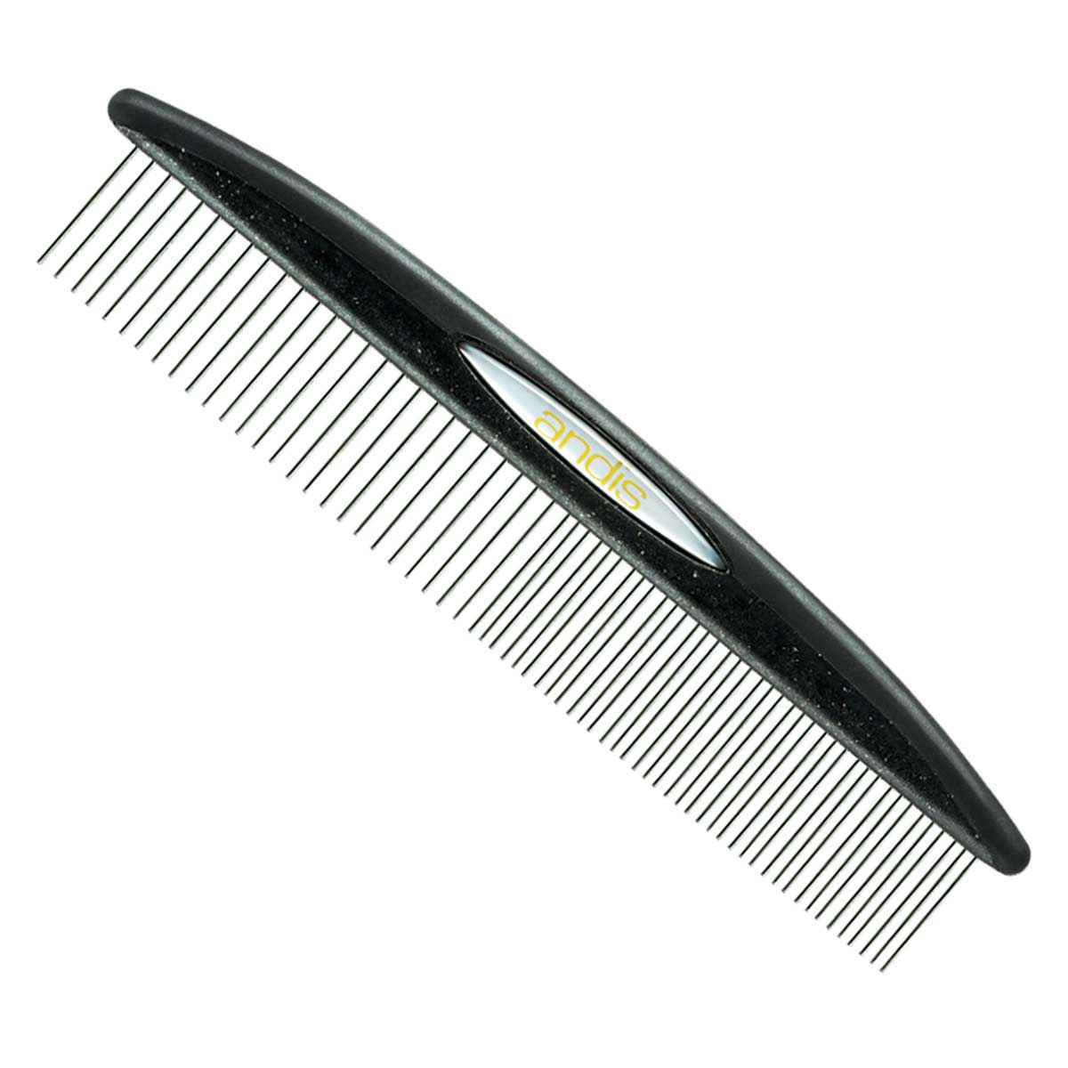 Black Andis 7.5 inch Premium Pet Steel Comb