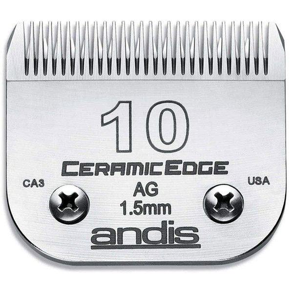 Andis CeramicEdge Blade (#10) 1/16 inch Cut at Ryan's Pet Supplies