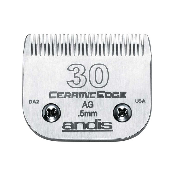 Andis CeramicEdge Grooming Blade (#30) 1/50 inch Cut at Ryan's Pet Supplies
