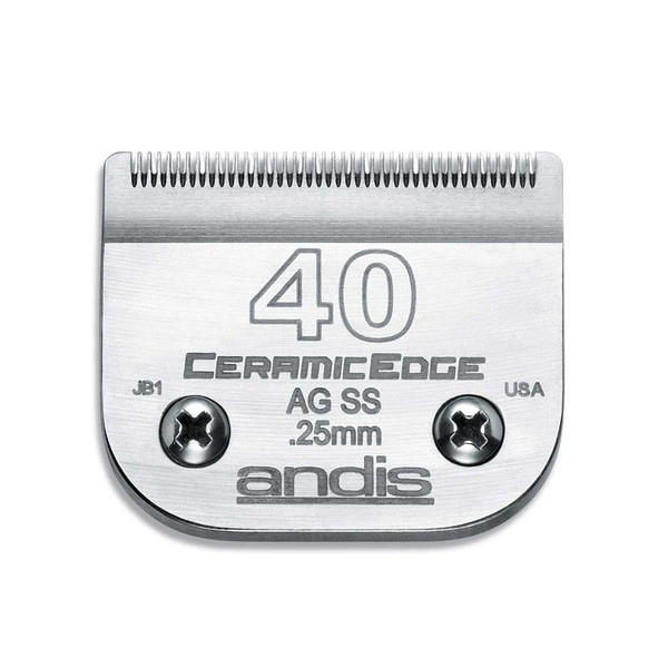 "Andis CeramicEdge Blade 1/100"" Stainless Steel Cut at Ryan's Pet Supplies"