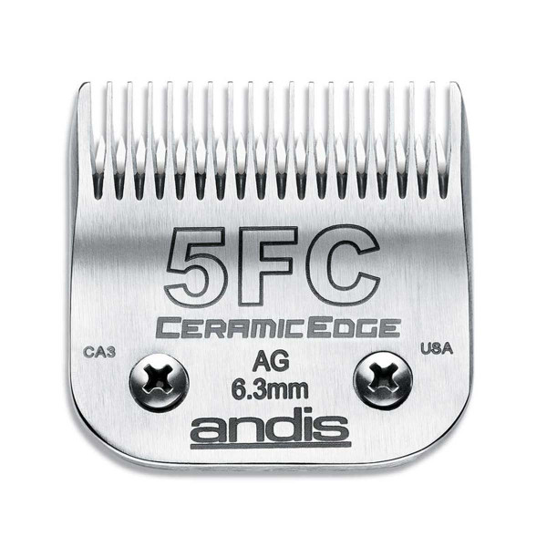 Andis Ceramicedge Blade (#5F) 1/4 inch Full Tooth Cut