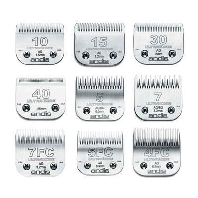Andis UltraEdge Blades for cat and dog grooming