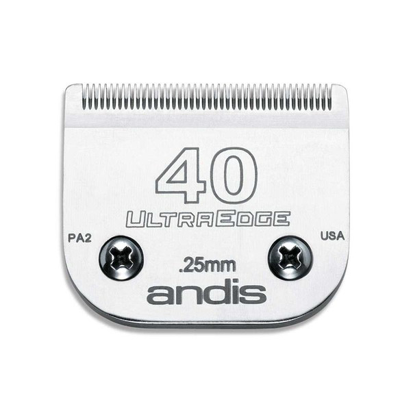 #40 Andis UltraEdge Blade for Dog Grooming 1/100 cut
