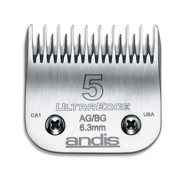 Andis Ultraedge Blade (#5) Skip Tooth 1/4 inch Cut