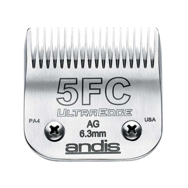 Andis UltraEdge Dog Grooming Blade (#5F) Full Tooth 1/4 inch Cut available at Ryan's Pet Supplies