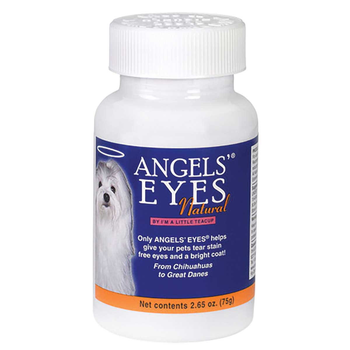 Angels' Eyes Natural Chicken Flavored Vitamins for Dogs and Cats to prevent eye stain