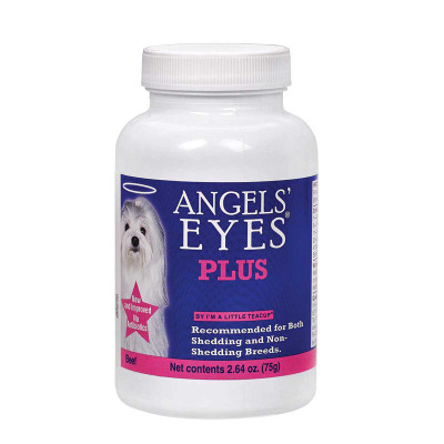 Angels' Eyes Natural Vitamins Plus Beef 75 Gram for Dogs and Cats to prevent Eye stain