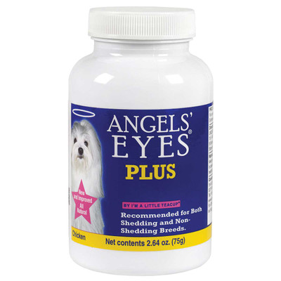 Angels' Eyes Natural Plus Chicken Eye stain Vitamins for Dogs and Cats 75 Gram