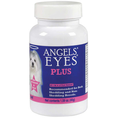 Angels' Eyes Natural Plus Beef 45 Gram Eye Stain Vitamins for dogs and Cats