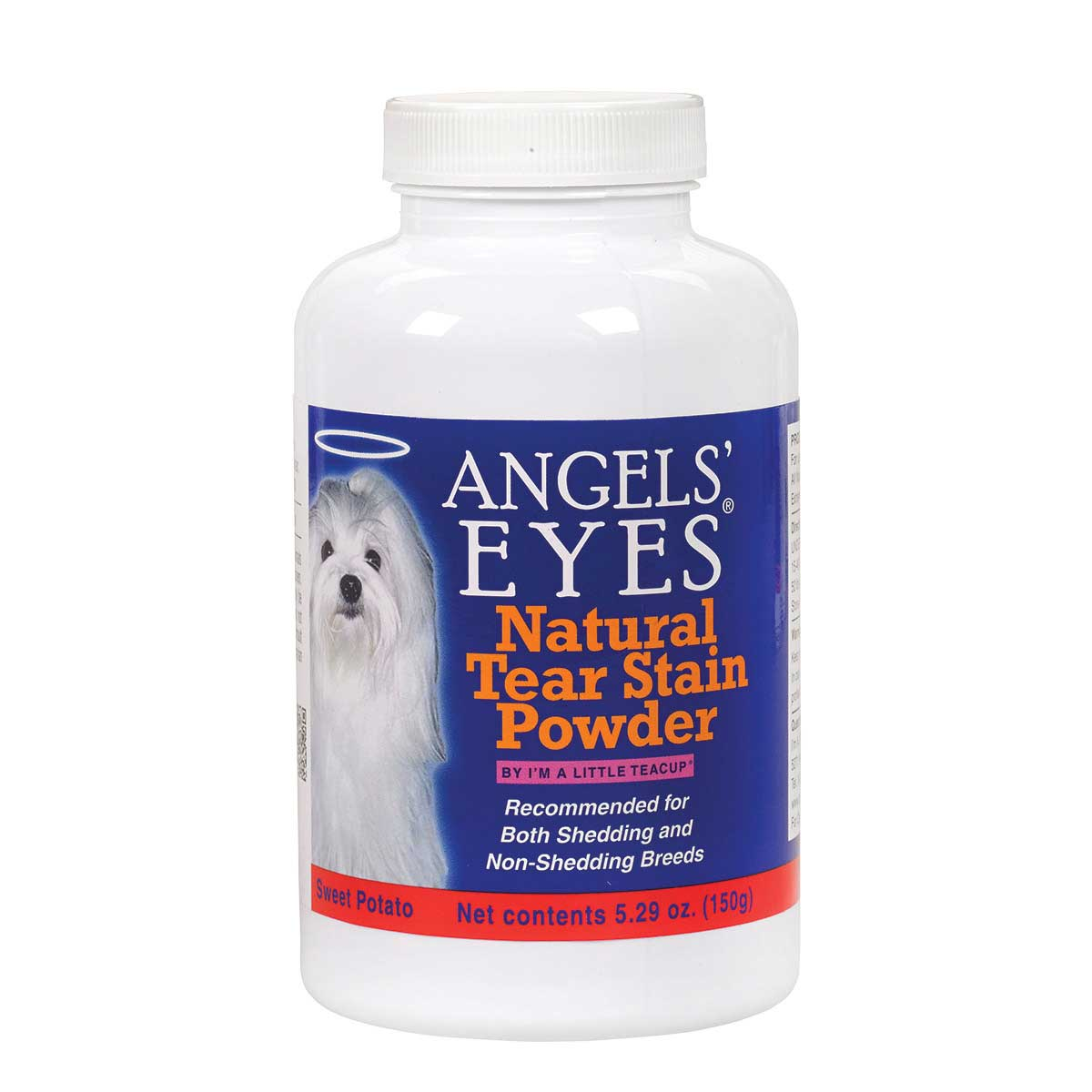 Angels' Eyes Natural Sweet Potato 150 Gram Eye Stain Prevention Vitamins for Cats and Dogs