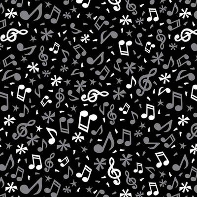 Musical Notes Dog Bandanna available at Ryan's Pet Supplies