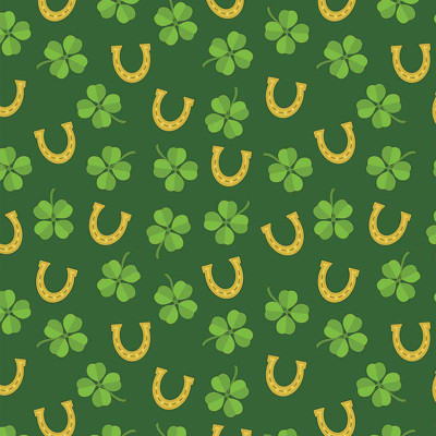 Luck Of The Irish Dog Bandanna available now at Ryan's Pet Supplies