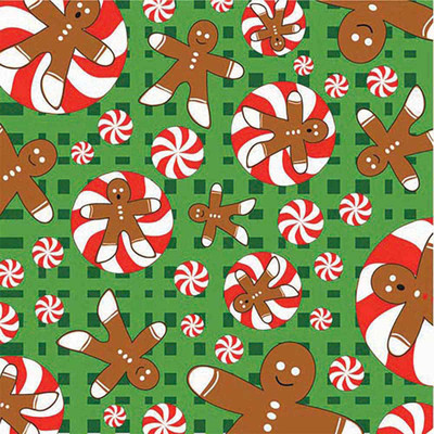 Gingerbread Men Bandanna